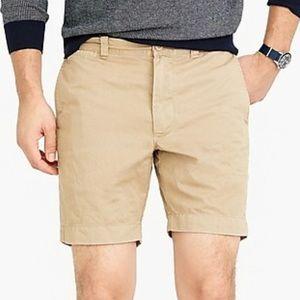 J. Crew Stanton Khaki Chino Shorts